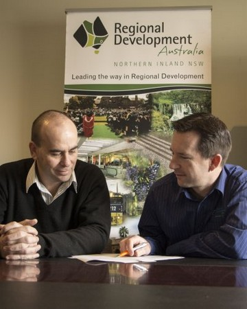 (Nathan Axelsson) Regional Development Australia, Northern Inland, are the project leaders ...