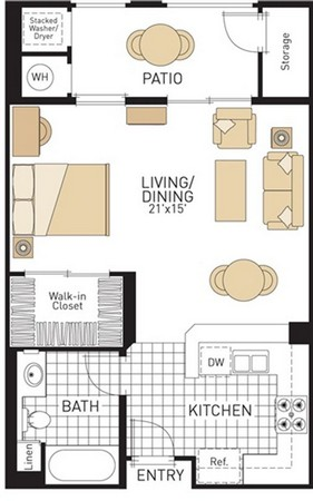 50 Studio Apartment Layout Ideas